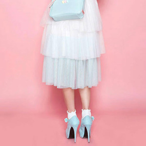 Cotton Candy Tiered SK (White)