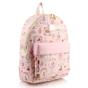 French Dessert Backpack (Pink)