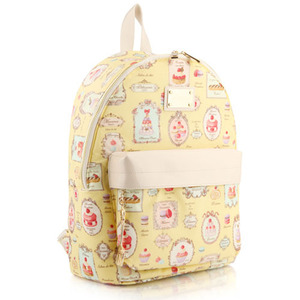 French Dessert Backpack (Yellow)