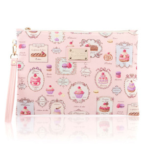 French Dessert Clutch Bag (Pink)