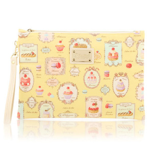 French Dessert Clutch Bag (Yellow)