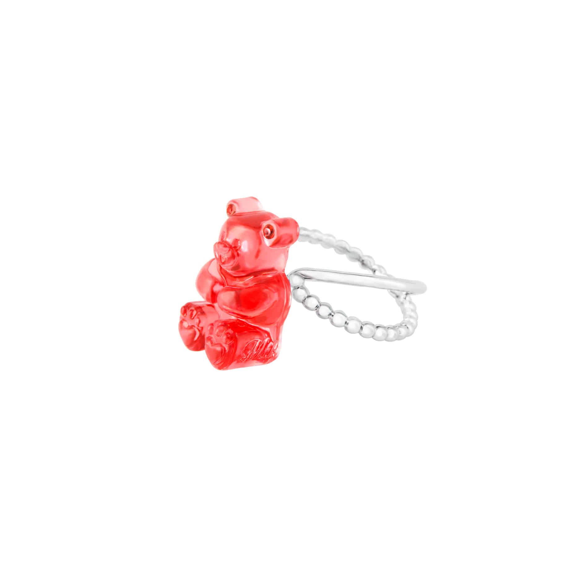 GUMMY BEAR RING (RED)