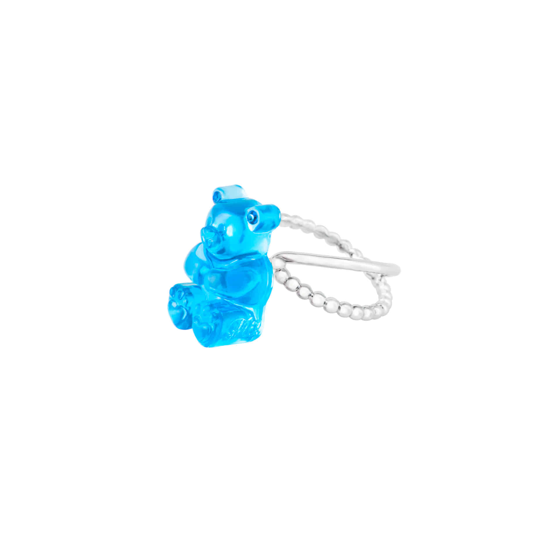 GUMMY BEAR RING (BLUE)